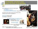 PROGRAMME CONCERTS 2010 Messe Ste-C