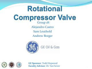 Rotational Compressor Valve