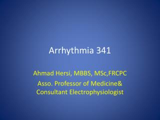 Arrhythmia 341