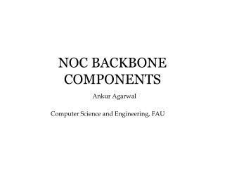 NOC BACKBONE COMPONENTS