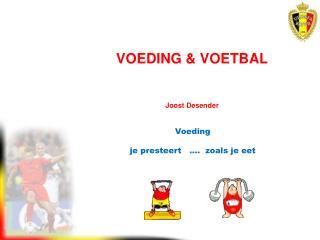VOEDING  &  VOETBAL