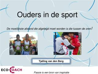 Ouders in de sport