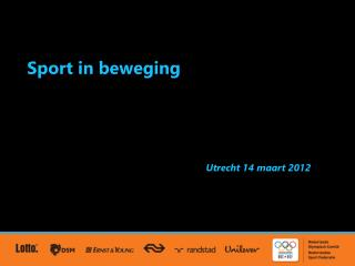 Sport in beweging