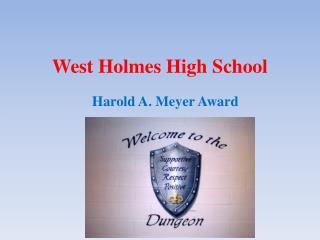 West Holmes High School