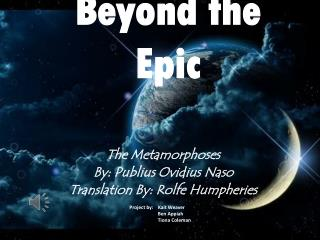 Beyond the Epic