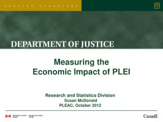 Measuring the  Economic Impact of PLEI