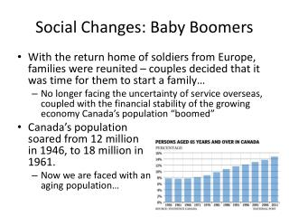 Social Changes: Baby Boomers