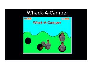 Whack-A-Camper