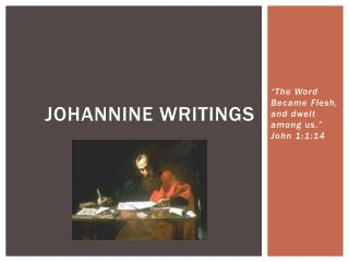 Johannine Writings