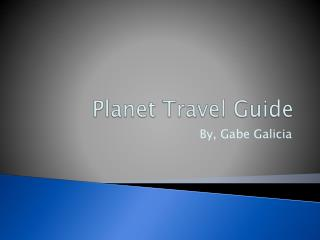 Planet Travel Guide