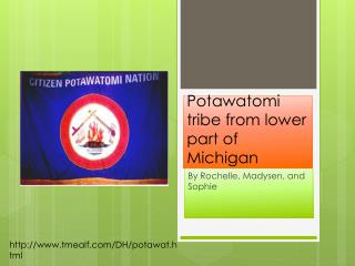 Potawatomi tribe from lower part of Michigan