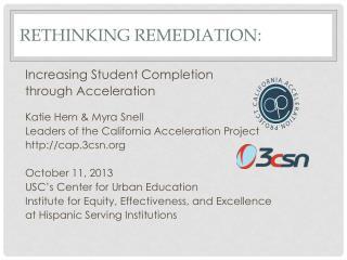 Rethinking Remediation: