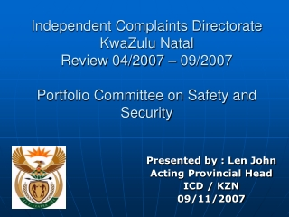 SJA Legal Overview 2008