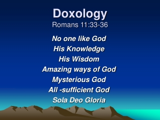 Your Worldview and Genesis 1-11