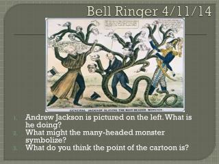 Bell Ringer 4/11/14
