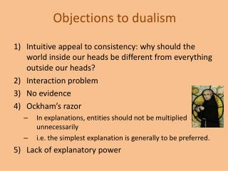 Objections to dualism
