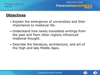 Explain the emergence of universities and their importance to medieval life.