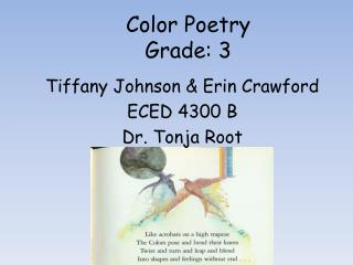 Color Poetry Grade: 3