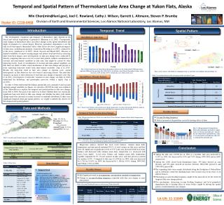 Temporal and Spatial Pattern of  Thermokarst  Lake Area Change at  Yukon Flats, Alaska