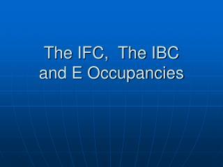 The IFC