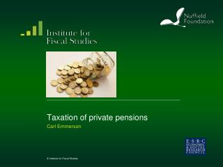 Taxation of private pensions