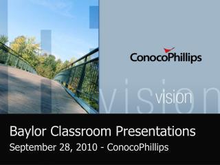 Baylor Classroom Presentations