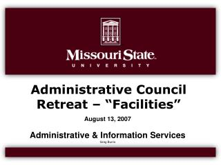 Slide 1 - Missouri State University