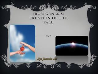 From  genesis: Creation of the fall