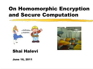 On Homomorphic Encryption and Secure Computation