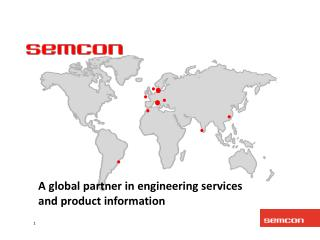 A global partner in engineering services and product information