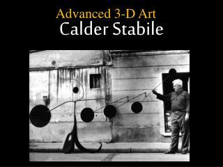Calder Stabile