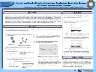 Networked Control System Emulation: Analysis of Controller Design