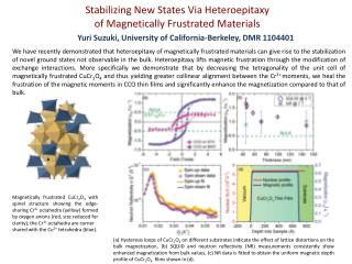 Stabilizing New States Via  Heteroepitaxy of Magnetically Frustrated Materials