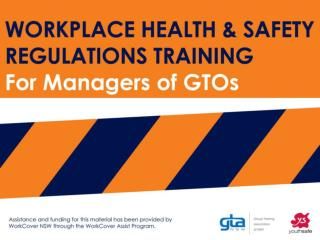 Model Work Health Safety  Regulations