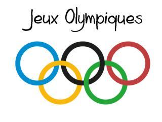 Les Jeux olympiques ou JO désignent deux choses: