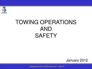 TOWING SAFETY BRIEF