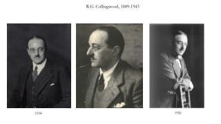 R.G.  Collingwood , 1889-1943