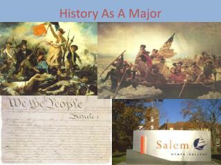 History As A Major