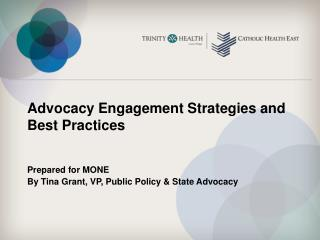 Advocacy Engagement Strategies and Best Practices