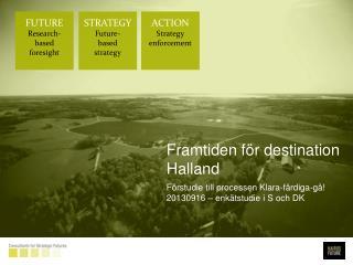 Framtiden för destination Halland