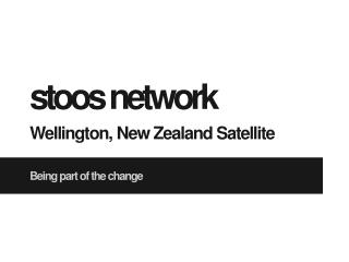 stoos  network Wellington, New Zealand Satellite