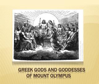 Greek Gods and Goddesses of Mount Olympus