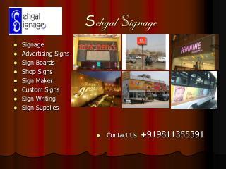 Sehgal Signage
