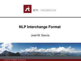 NLP Interchange Format