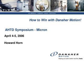 AHTD Symposium - Micron