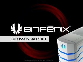 COLOSSUS SALES KIT