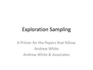Exploration Sampling