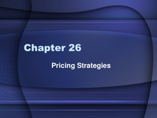 Trade Promotions and  Pricing Strategies
