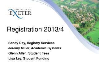 Registration  2013/4