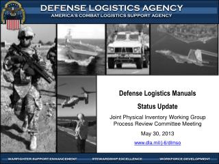 Defense Logistics Manuals  Status  Update